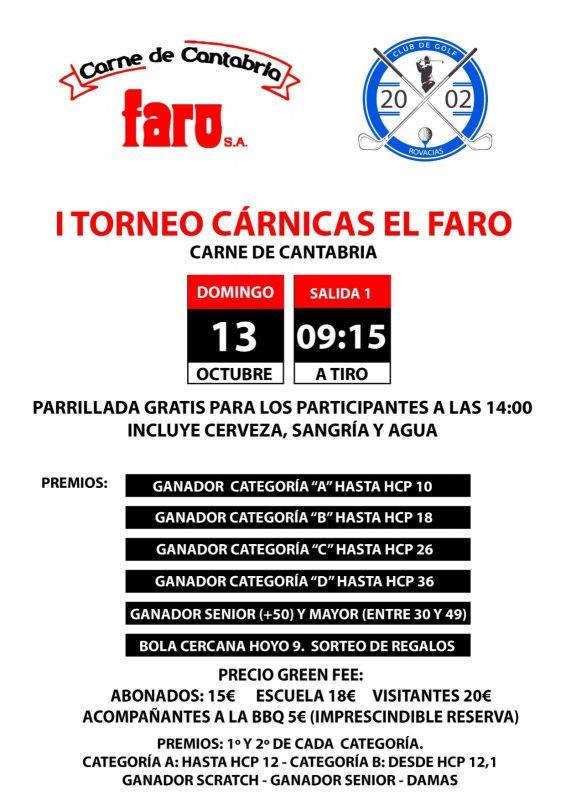I Torneo de Golf Cárnicas el Faro