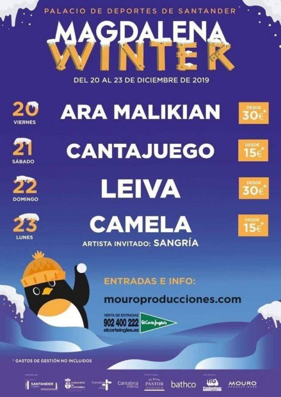 Magdalena Winter en el Palacio de los Deportes de Santander