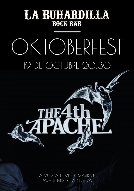 The 4th Apache Oktoberfest