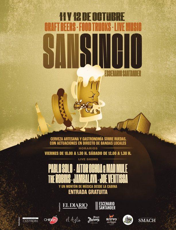 San Sincio en Escenario Santander