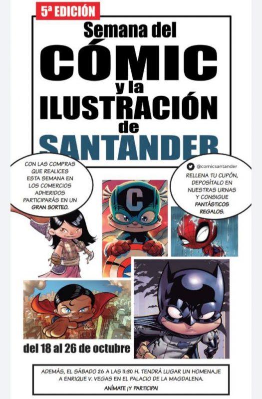 Semana del cómic y la ilustración en Santander