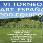 VI Torneo de Golf Art-España por equipos