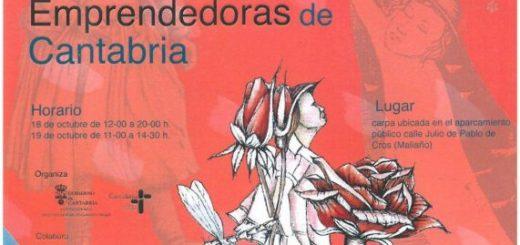 VIII Feria mujeres artesanas y emprendedores de Cantabria