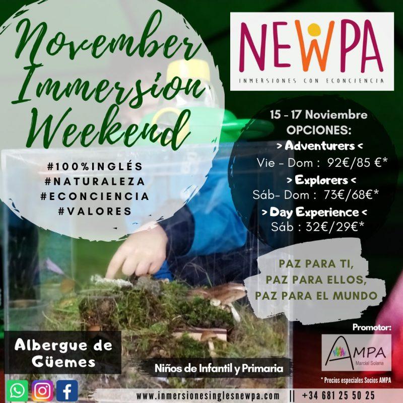 NewPa November Immersion Weekend