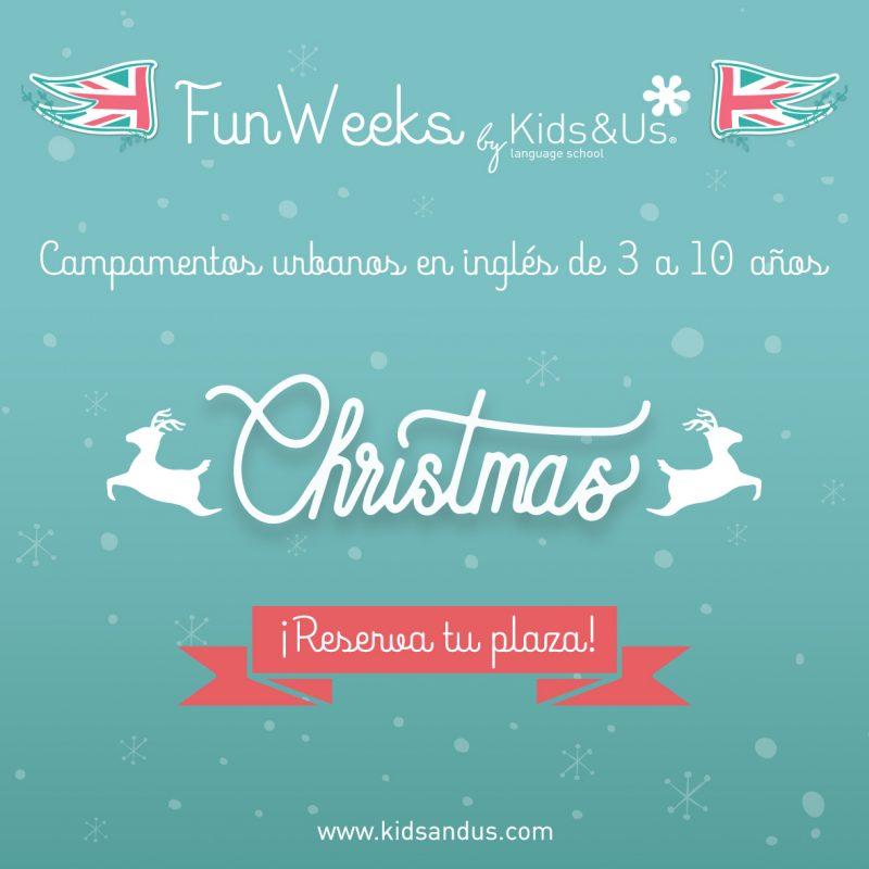 Christmas Fun Week en KIDS&US Santander