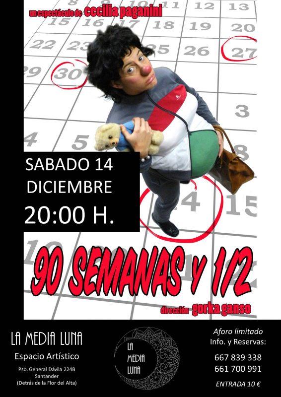 90 SEMANAS Y 1/2 - TEATRO CLOWN PARA ADULTOS