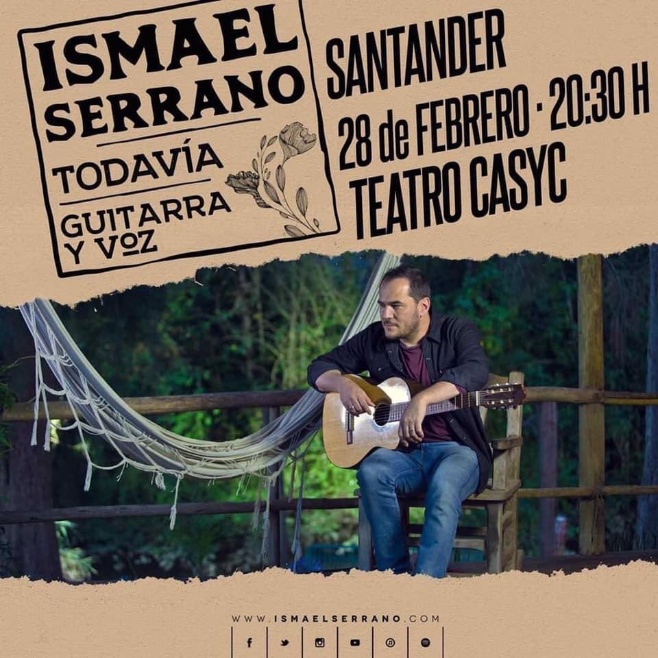 Concierto de Ismael Serrano en Santander