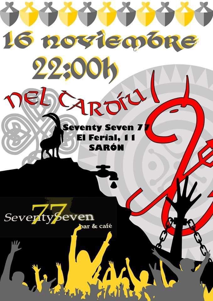 Concierto de Nel Tardiu en Sarón