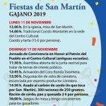 Fiestas de San Martín 2019 en Gajano