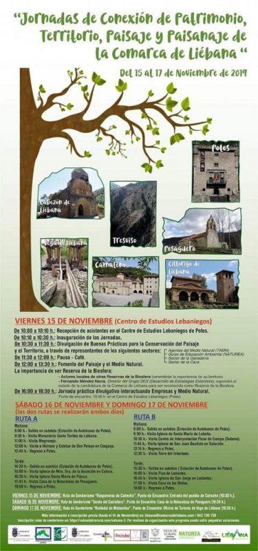 Jornadas de conexión de patrimonio, territorio, paisaje y paisanaje