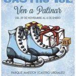 Patinaje sobre hielo en Castro Urdiales esta Navidad