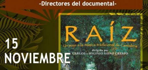 Proyección del documental Raíz