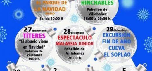 Actividades de Navidad 2019 en Castañeda