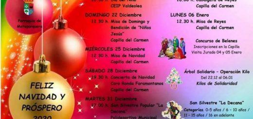 Actividades de Navidad 2019 en Mataporquera