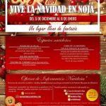 Cartel Actividades de navidad 2019 en Noja