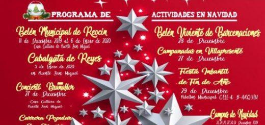 Actividades de Navidad 2019 en Reocín