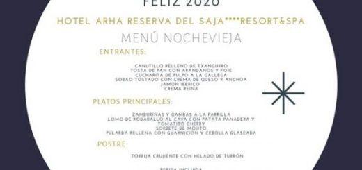 Cena y cotillón de nochevieja en Arha Santander