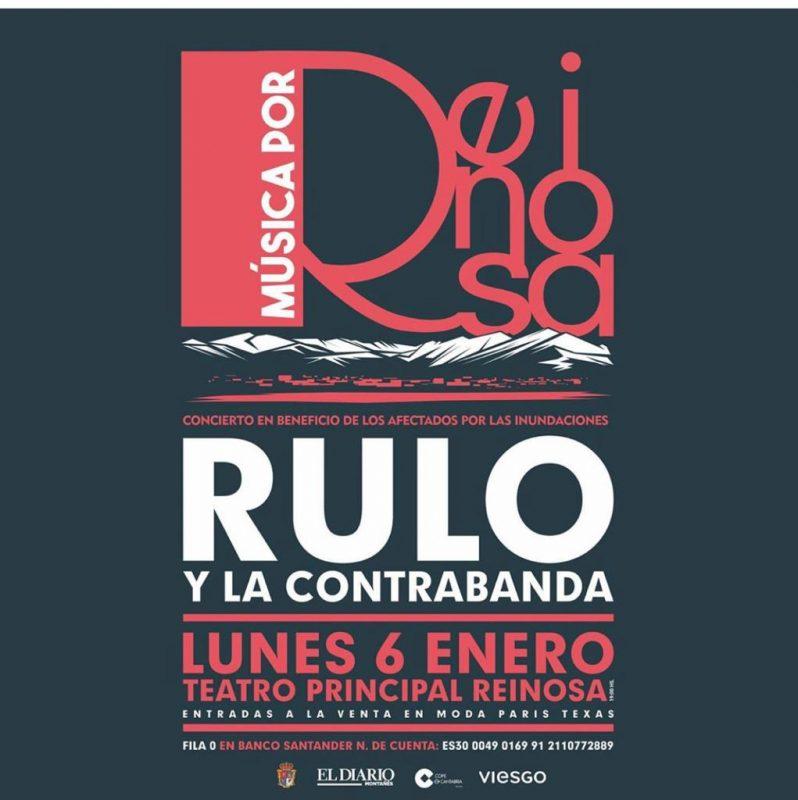 Concierto solidario de Rulo y la Contrabanda