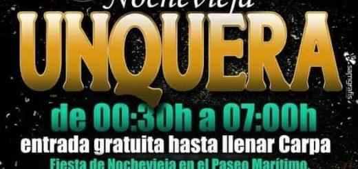 Nochevieja 2019 popular en Unquera