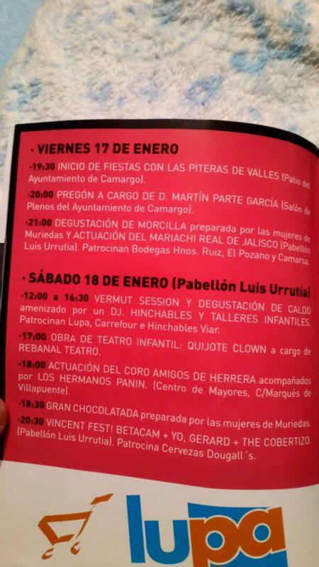 Fiestas de San Vicente Mártir 2020 en Muriedas