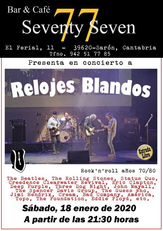 Concierto de Rock'n'roll en Sarón