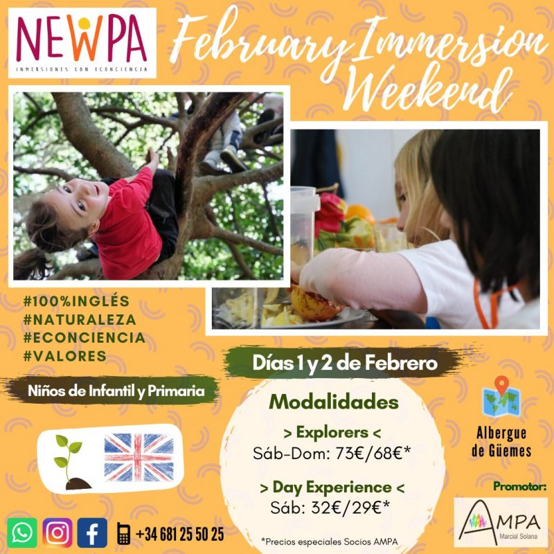 February Immersion Weekend NewPa