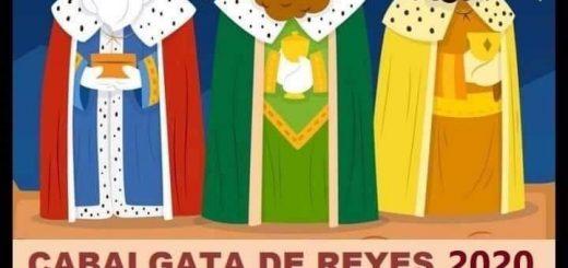 Cabalgata de los Reyes Magos 2020 en Ambrosero