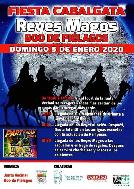 Cabalgata de los Reyes Magos 2020 en Boo de Piélagos