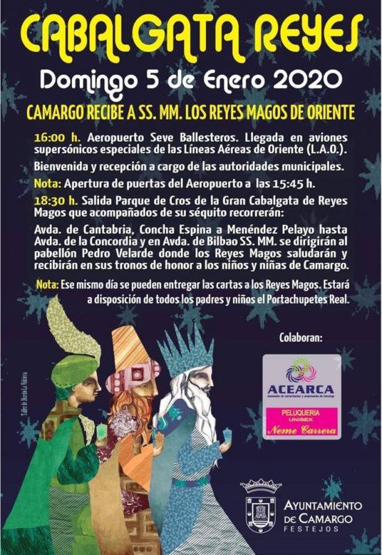 Cabalgata de los Reyes Magos 2020 en Camargo