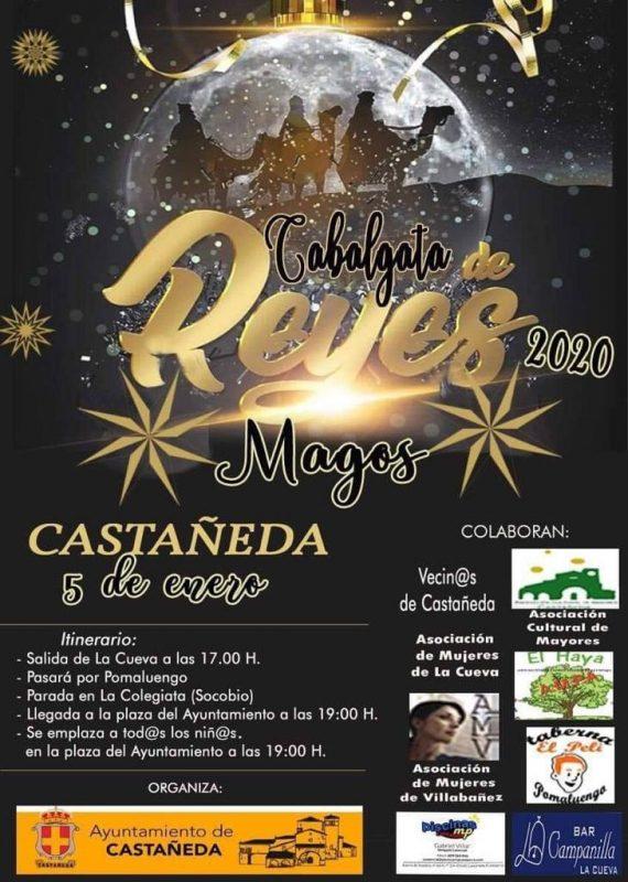 Cabalgata de los Reyes Magos 2020 en Castañeda