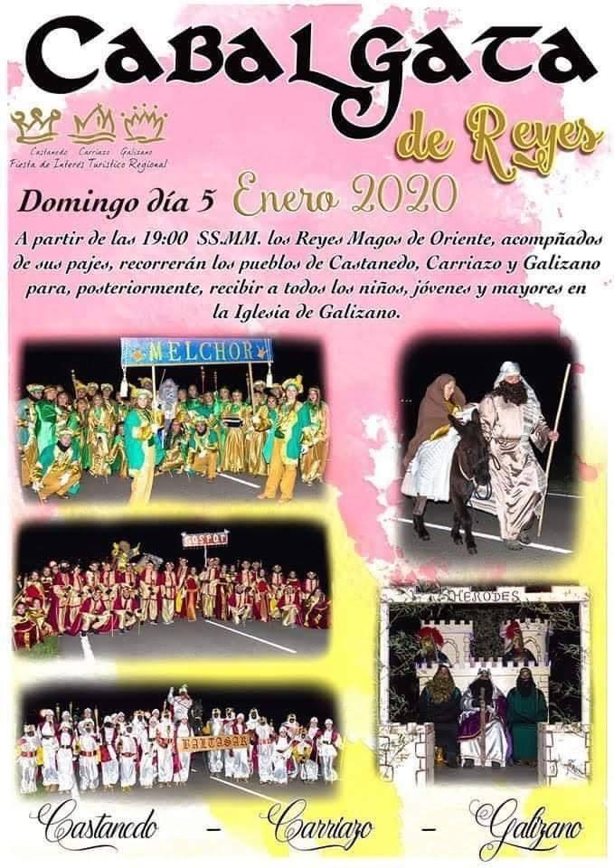 Cabalgata de los Reyes Magos 2020 en Castanedo, Carriazo y Galizano