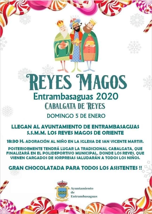 Cabalgata de los Reyes Magos 2020 en Entrambasaguas