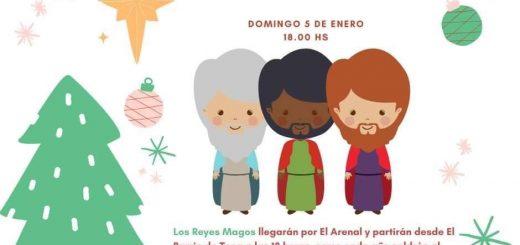 Cabalgata de los Reyes Magos 2020 en Hazas de Cesto