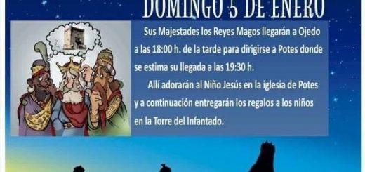 Cabalgata de los Reyes Magos 2020 en Potes