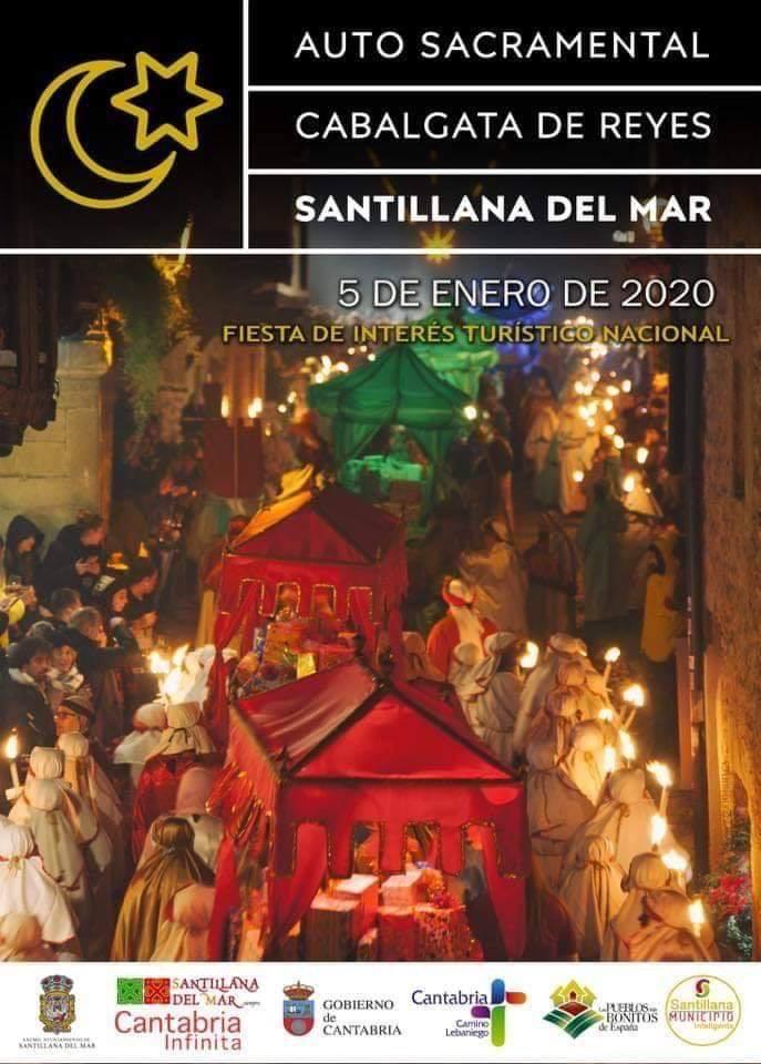 Cabalgata de los Reyes Magos 2020 en Santillana del Mar