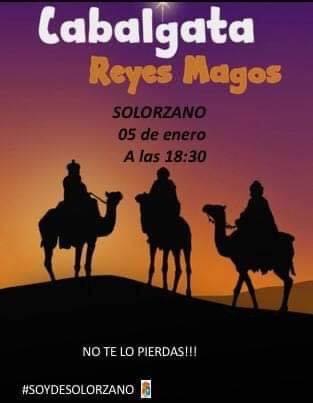 Cabalgata de los Reyes Magos 2020 en Solórzano