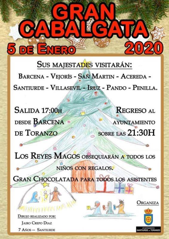 Cabalgata de los Reyes Magos 2020 en Toranzo