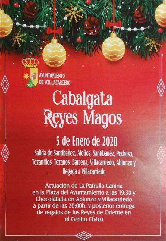 Cabalgata de los Reyes Magos 2020 en Villacarriedo