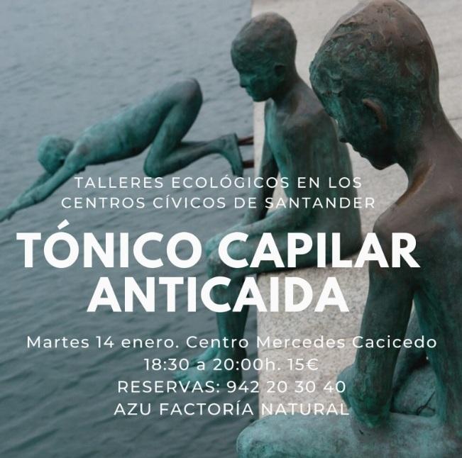 TALLER TONICO CAPILAR ANTICAIDA