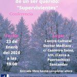 Conferencia: Duelo por suicidio de un ser querido