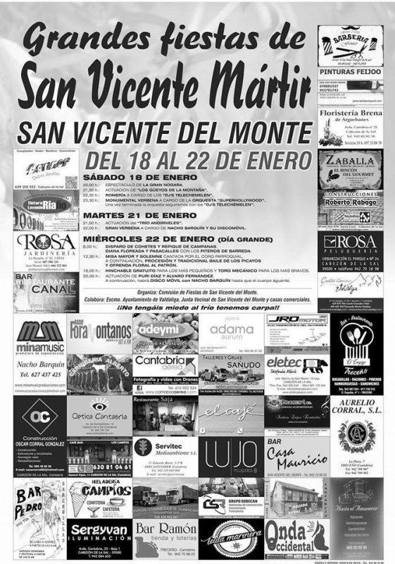 Fiestas de San Vicente Mártir2020 en Valdáliga