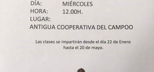 Gimnasia de rehabilitación en Arenas de Iguña
