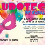 Ludoteca de carnaval en Cartes