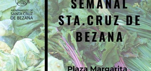 Mercado semanal en Bezana