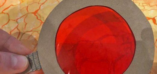Rojo L-upestre en el Museo de Altamira