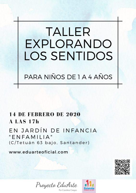 Taller explorando los sentidos - Proyecto EduArte