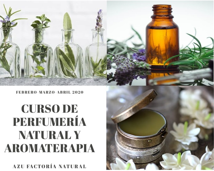 CURSO DE PERFUMERÍA NATURAL Y AROMATERAPIA