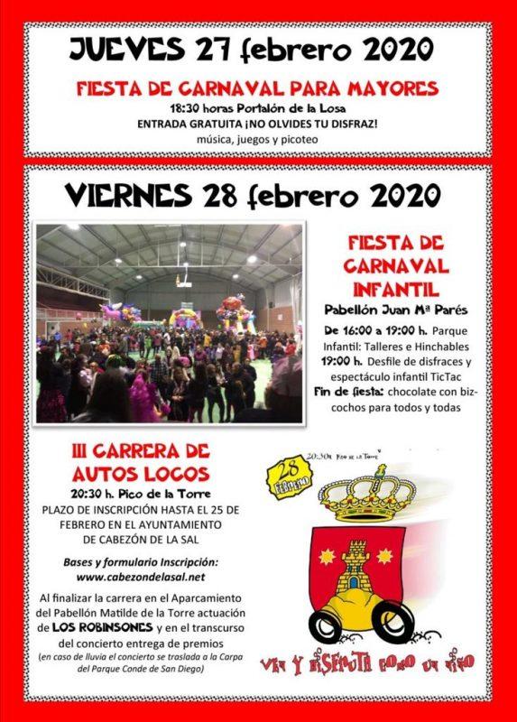 Carnaval de Cabezón de la Sal 2020