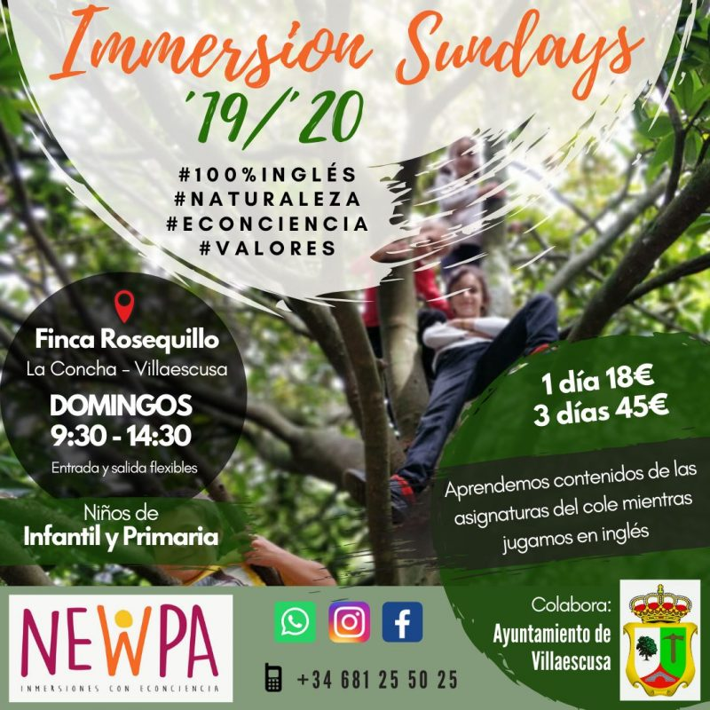 NewPa Immersion Sunday 16-02-2020
