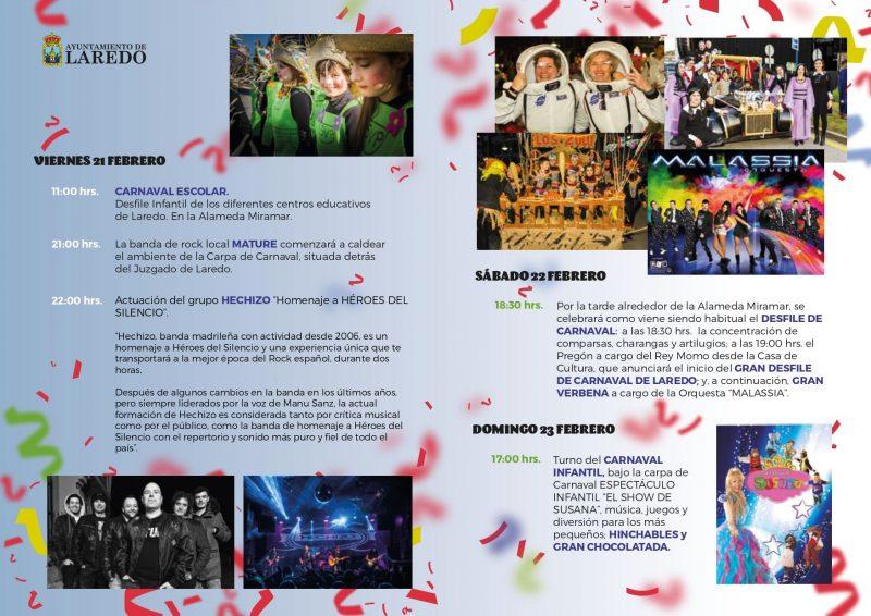 Carnaval en Laredo 2020